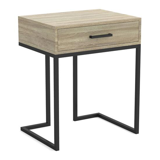Safdie & Co. Accent Table - Dark Taupe