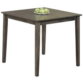 Titus Grey Solid Wood and Wood Veneers Dining Table - 32in.