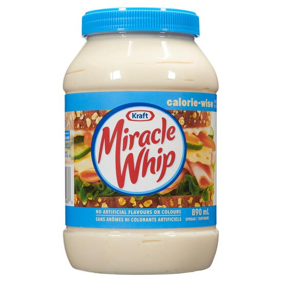 Miracle Whip Calorie-Wise Spread - 890ml