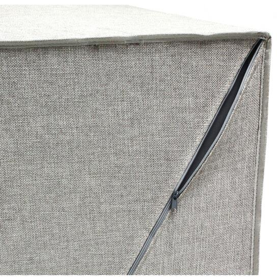 Greenway Collapsible Double Sorter Laundry Hamper - Grey Linen