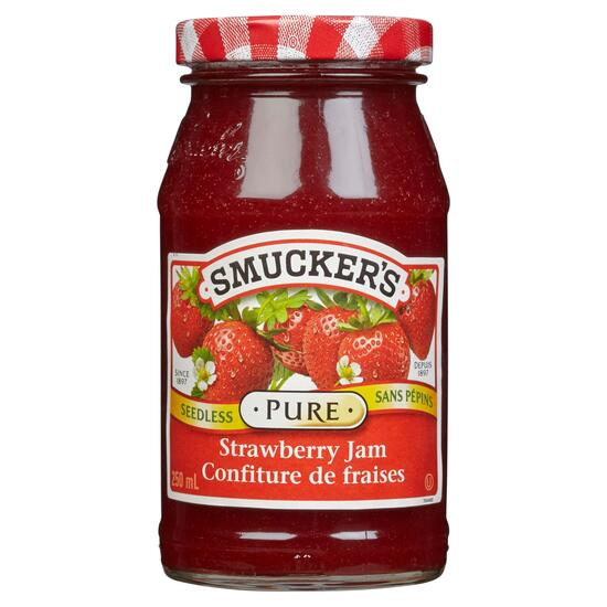 Smucker's Pure Seedless Strawberry Jam - 250ml