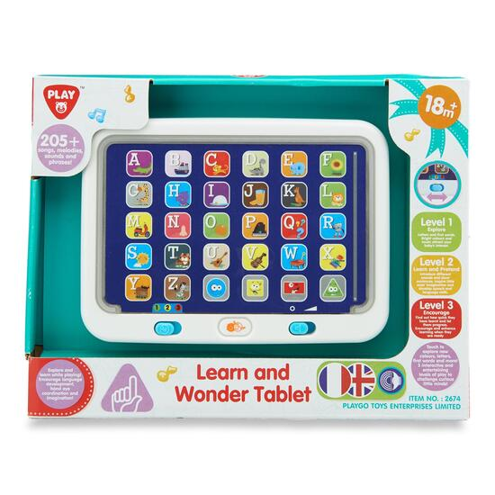 Playgo Learn and Wonder Tablet