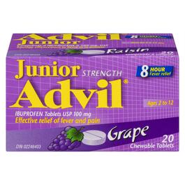 Advil® Junior Chewable Tablets - 20pk.
