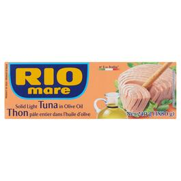Rio Mare Solid Light Tuna in Olive Oil 3pk - 240g
