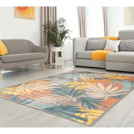 eCarpetGallery Tiffany Multi-Colour Viscose Area Rug
