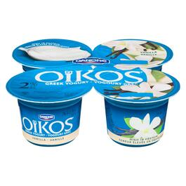 Oikos Vanilla Greek Yogurt 2% M.F. 4pk. - 400g