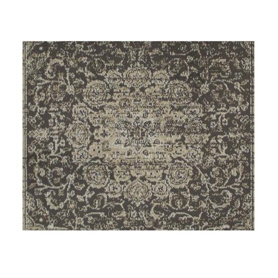 Avocado Décor Faded Brown Artificial Silk Garland Rug - 4.6ft.x6.6ft.