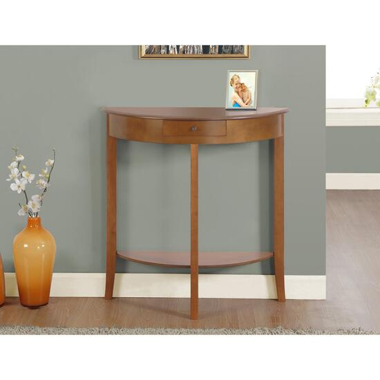 Monarch Specialites Inc. Antique Hall Accent Table - Oak