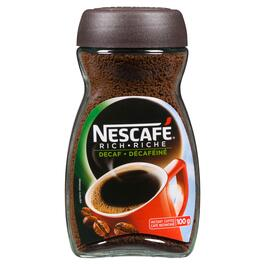 Nescafé Rich Decaf Instant Coffee - 100g