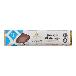 Queen T Sea Salt Chocolate Bar - 42.5g