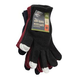 Mountain Ridge Men's Mini Gloves 3pk. - One Size