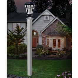 New England Arbors EZ Mount Lamp Post