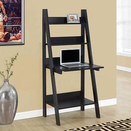 Monarch Specialties Inc. Ladder Style Computer Desk - Cappuccino