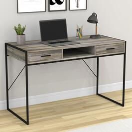Safdie & Co. Distressed Wood Computer Desk - 48in.