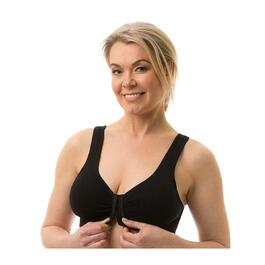 Carole Martin Full Freedom Cotton Bra, Black - 2pk.