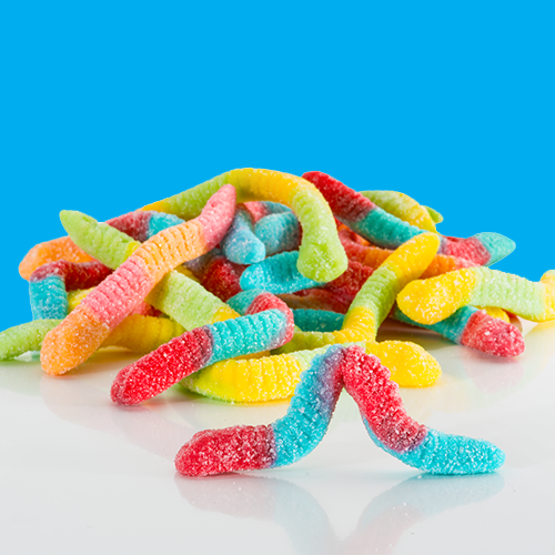 Giant Value gummy worms