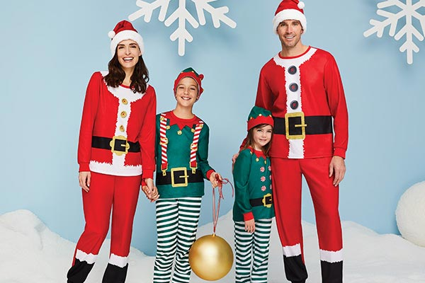 Christmas family sleepwear
