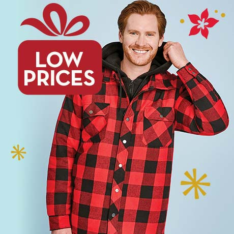 Low prices on men's fashion