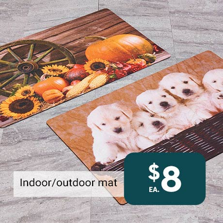 $8 ea. Indoor/outdoor mat