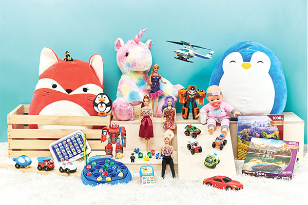 Toys, Games & Books Category