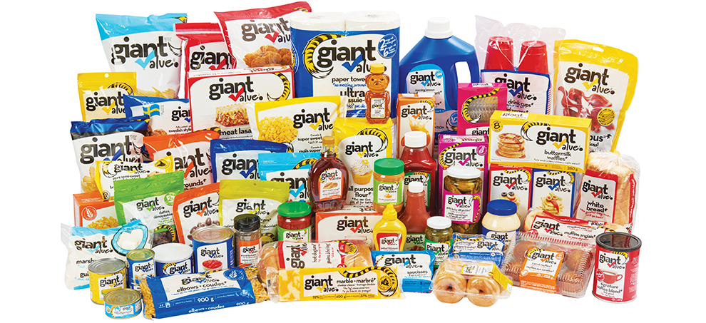 Giant value products