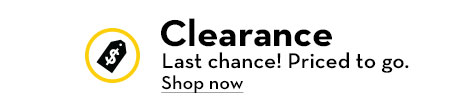 Clearance. Last chance! Priced to go.