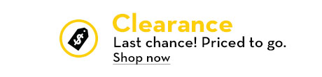 Clearance - Last chance! Priced to go!