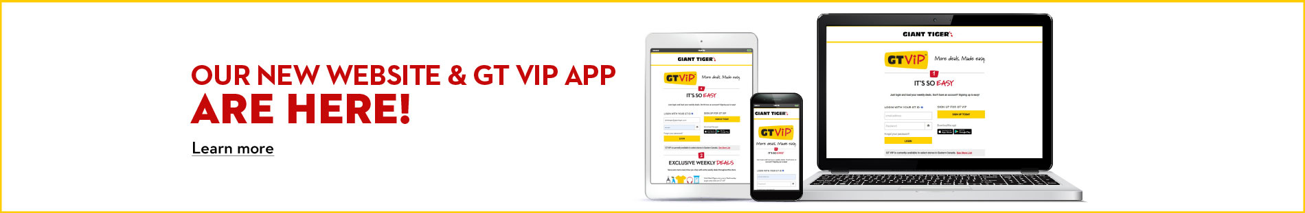 Our new website and GT VIP app are here!