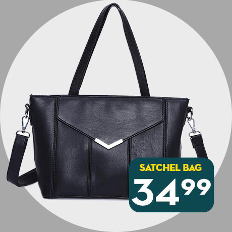 34.99 Satchel bag - Online only