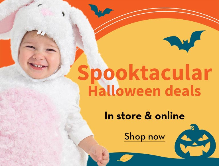 Spooktacular Halloween deals. In store & online