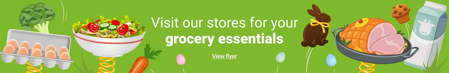 Visit our store for your grocery essentials