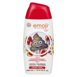 Emoji Strawberry 2-in-1 Conditioning Shampoo Strawberry - 400 ml