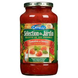 Catelli Garden Select Tomato and Basil Pasta Sauce - 640ml