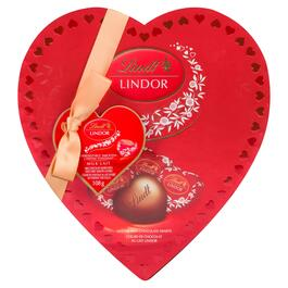 Lindt Lindor Milk Chocolate Hearts - 108g
