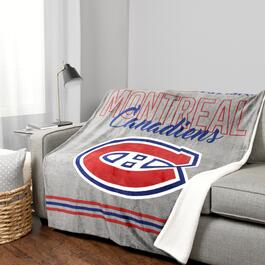 NHL Montreal Canadiens Throw - 60in.