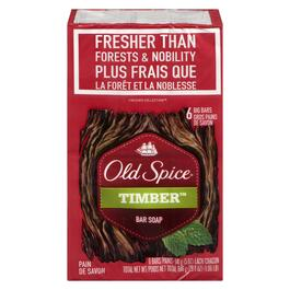 Old Spice Timber Bar Soap - 6pk.