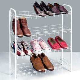 Metaltex Scarpa 4 Tier Shoe Rack