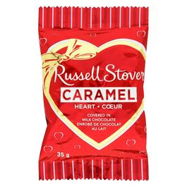 Russell Stover Milk Chocolate Caramel Heart - 35g
