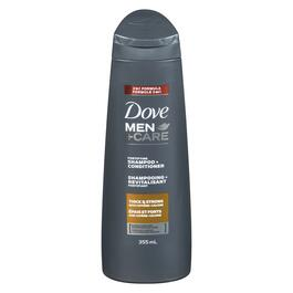 Dove Men+Care Thick and Strong 2-in-1 Shampoo and Conditioner - 355ml