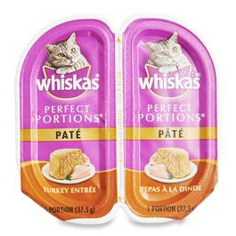 Whiskas Perfect Portions Turkey Cat Food - 75g