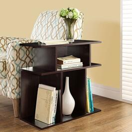Monarch Specialties Inc. Side Table - Cappuccino