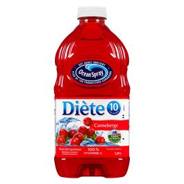 Ocean Spray Diet Cranberry Beverage Cranberry - 1.8L