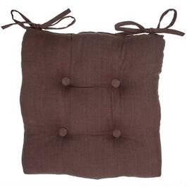 Virginia Chocolate Chair Pads 4pc. - 18in.