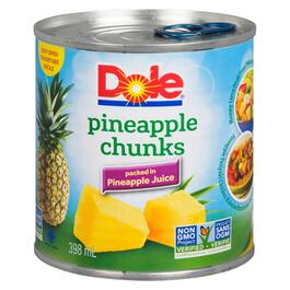 Dole Pineapple Chunks - 398ml