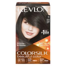 Revlon Colorsilk Beautiful Color Hair Dye Soft Black - No. 11