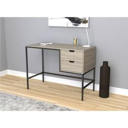 Safdie & Co. Grey Computer Desk - 48in.