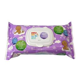 Simply Kids Unscented Wipes - 72pk.