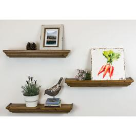Kiera Grace Muskoka Fitz Wood Shelves Set - 3pk.