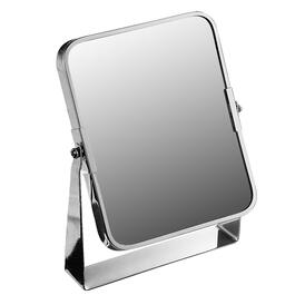 Chrome Plated Rectangular Swing Mirror on Stand
