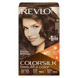 Revlon® Chestnut Brown Colour Silk Permanent Hair Dye - No. 46